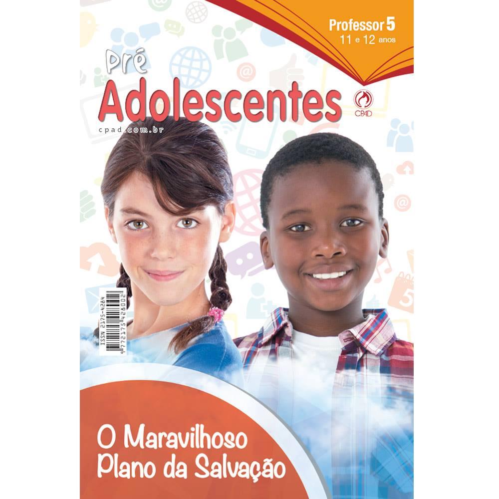 REVISTA PRE-ADOLESCENTES 1° TRIMESTRE 2018